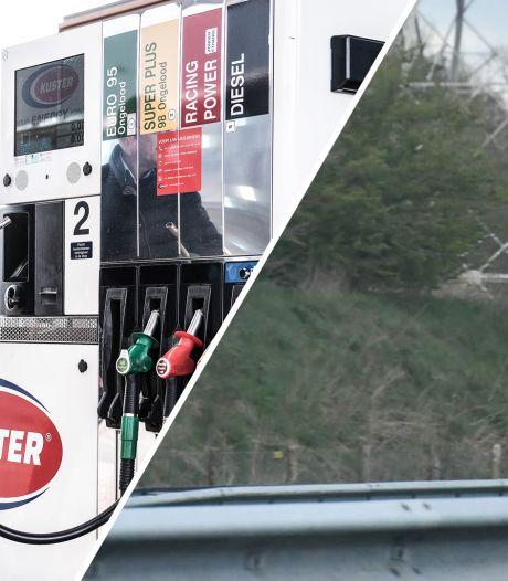 Gemist? Prijzenoorlog bij pompstations aanstaande & camera's langs de A35 bij Enschede-Zuid