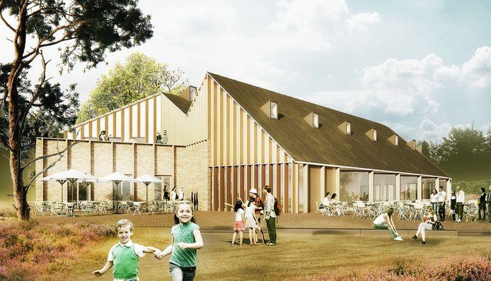Impressie van Het Landgoed, het nieuwe bezoekerscentrum van Nationaal Park De Hoge Veluwe.