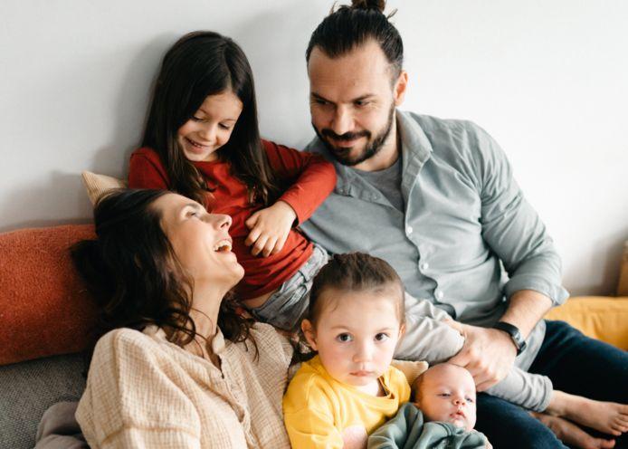 Lara et sa famille.