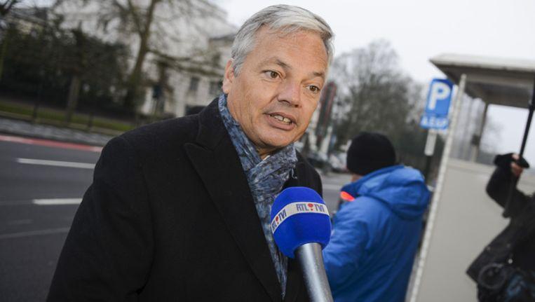 Didier Reynders. Beeld BELGA