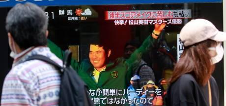 Matsuyama kan niet wachten tot hij Japan zijn groene jasje kan laten zien: 'Wat een sensatie en eer'