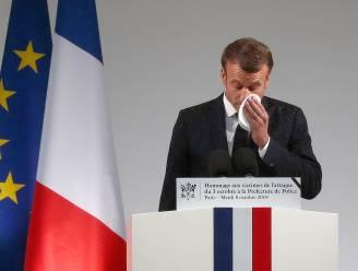 """Macron belooft """"onophoudelijke strijd tegen islamterrorisme"""""""