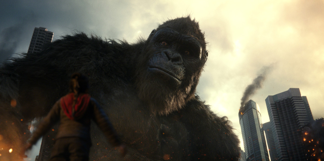 Maakt de pandemie Kong een kop kleiner of draait Godzilla vs Kong straks in de bioscopen? Beeld Courtesy of Warner Bros. Enterta