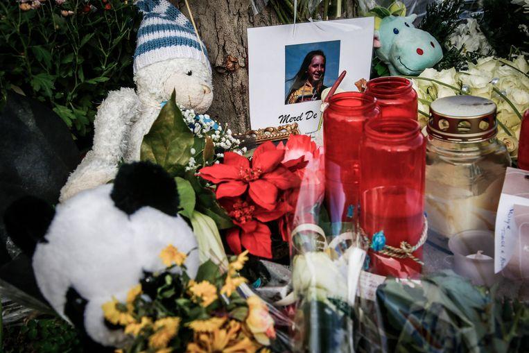 In november 2015 stierf Merel De Prins in een ongeval. De dader pleegde vluchtmisdrijf; hij had geen rijbewijs en had talloze keren rijverbod gekregen. Beeld BELGA