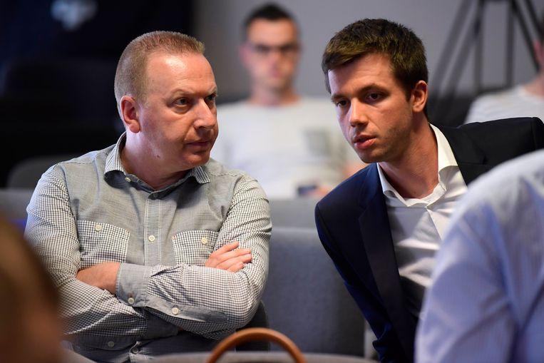 Joris Van Cauter (rechts).