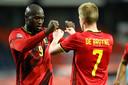 """Romelu Lukaku et Kevin De Bruyne, deux des trois candidats au trophée de """"Meilleur Belge à l'étranger"""""""