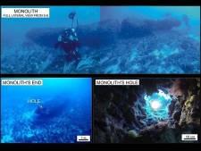 Gigantische monoliet ontdekt op bodem Middellandse Zee