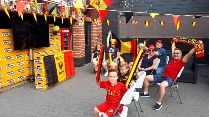 #REDCHALLENGE Van wimpels en vlaggen tot dansende kinderen en King Kevin: Zottegem kleurt rood-geel-zwart na uitdaging van Matz Sels