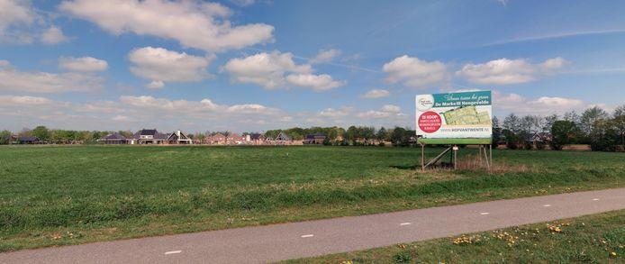 Voor de tweede fase van de nieuwbouwwijk De Marke III in Hengevelde is de wachtlijst weer compleet