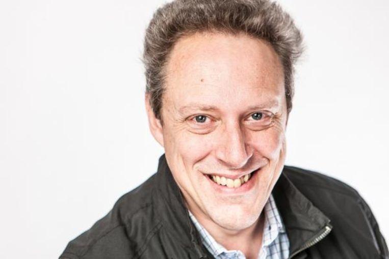 VRT-taaladviseur Ruud Hendrickx.  Beeld Ruud Hendrickx