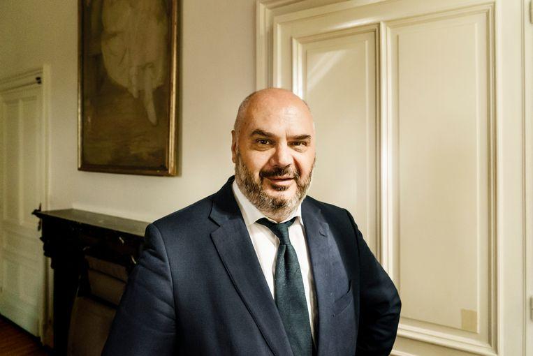 Burgemeester Kristos Doulkeridis (Ecolo) Beeld Eric de Mildt