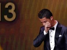 Ronaldo in tranen: 'Het is zó moeilijk om deze prijs te winnen'