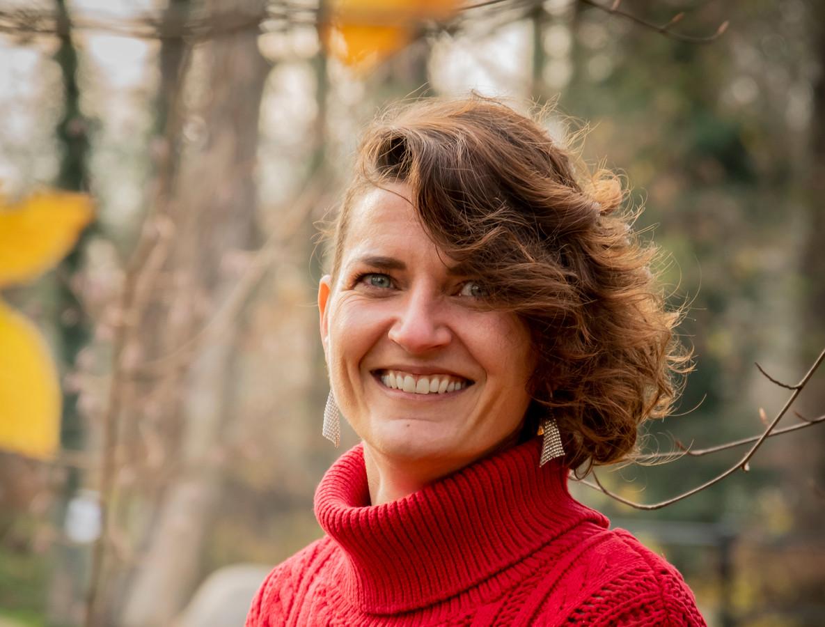 Wandelcoach Nadine Lucas .