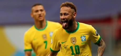 Simpele zege Brazilië op gehavend Venezuela in openingsduel Copa América