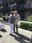 Afgelopen zomer vierden Piet en Mien hun 60-jarig huwelijk