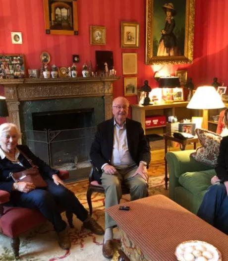 Albert II et Paola ont rencontré la princesse Delphine pour la première fois
