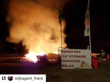 Stichting Bouwdorp ontvangt massaal pallets na brandstichting