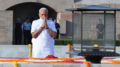 Modi legt eed af voor tweede ambtstermijn als premier van India