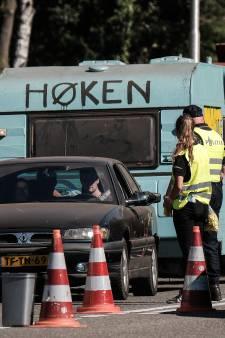 25 automobilisten gestrand bij alcoholcontrole na Zwarte Cross