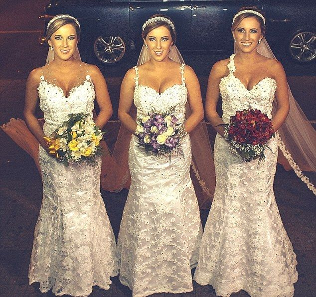 Rafaela, Rochele en Tagiane zullen elkaars trouwverjaardag niet licht vergeten.