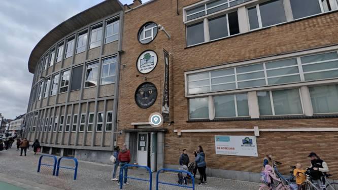 Kleuterafdeling stedelijke basisschool De Notelaar een week langer dicht