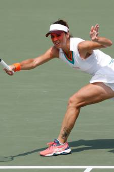 Edese tennisster Bibiane Schoofs schittert in New York