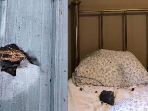 Une grand-mère canadienne se réveille avec une météorite sur son oreiller