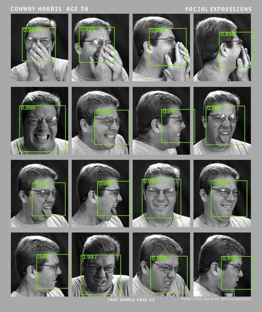 De software zou zelfs gezichten moeten herkennen als er een hand voor wordt gehouden