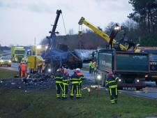 Bergenaren rechtop in bed door vrachtwagenbrand: 'Een harde knal en sirenes, toen wist ik dat het mis was'