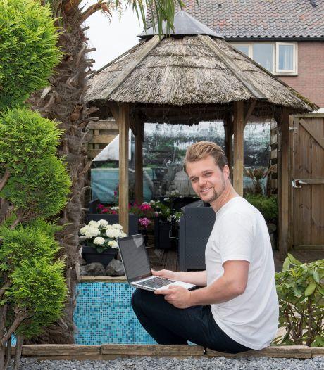 Matthijs denkt de oplossing voor de woningnood te hebben: een minihuisje in de achtertuin