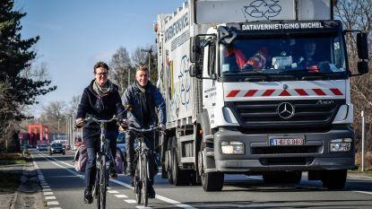 Eindelijk: drukke Zeelsebaan krijgt gescheiden fietspaden en ventweg in 2020