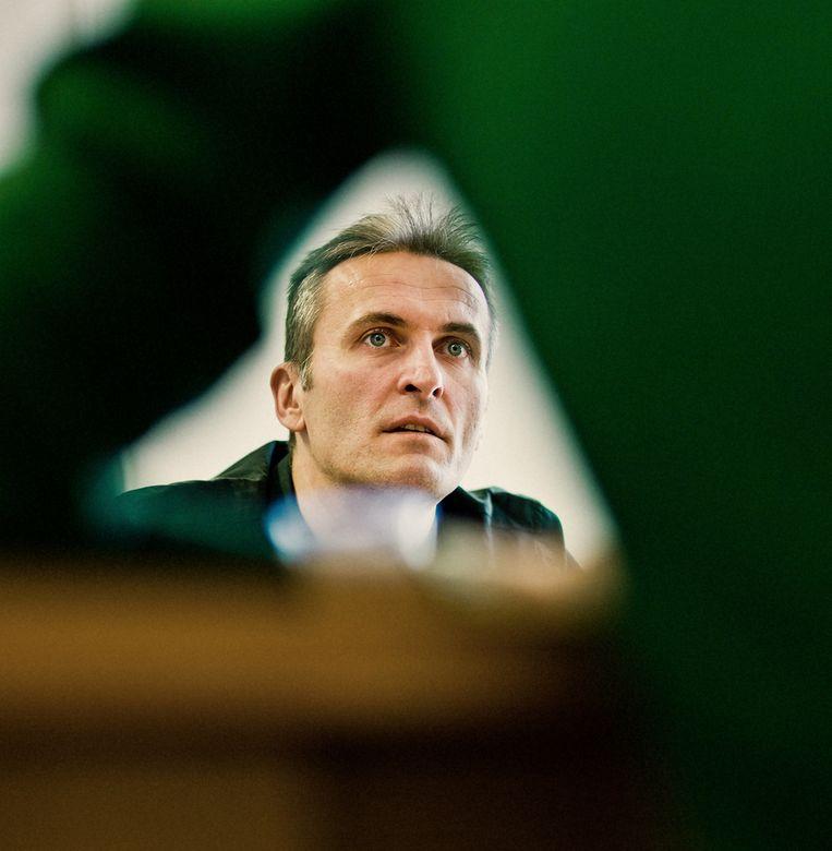 Gert Peersman (UGent). Beeld Jelle Vermeersch