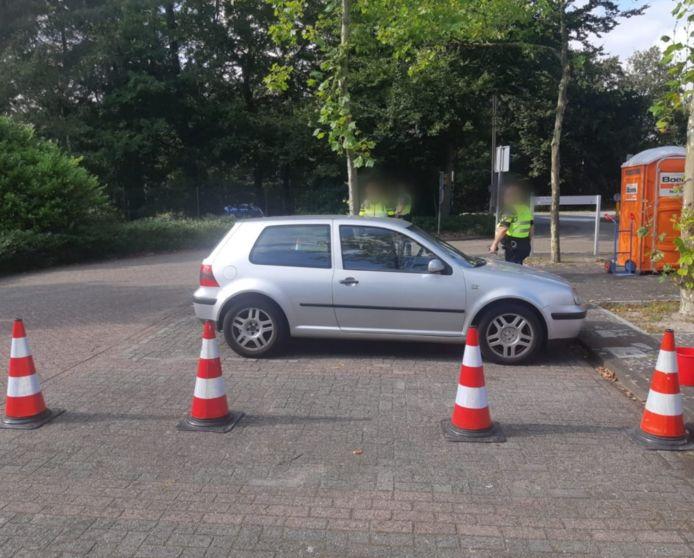 Verkeerscontrole in Molenschot.