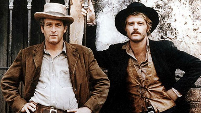 De zwarte cowboyhoed in 'Butch Cassidy and the Sundance Kid'.  Beeld