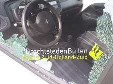 Inbreker van auto blijkt afgevuurd steentje