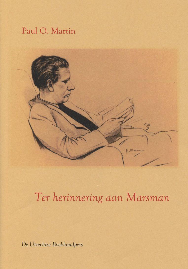 Paul O. Martin: Ter herinnering aan Marsman.  Salon Saffier, € 8,50 Beeld