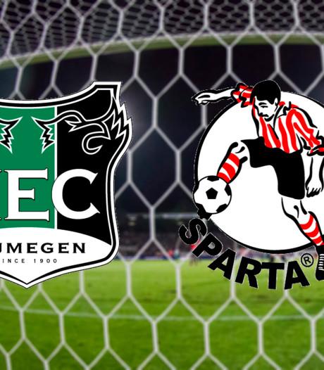 TERUGLEZEN| NEC speelt in De Goffert met 1-1 gelijk