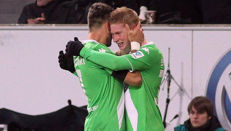 Een emotionele Kevin De Bruyne zette zijn verdriet om Malanda om in een geweldige prestatie. Beeld PHOTO_NEWS
