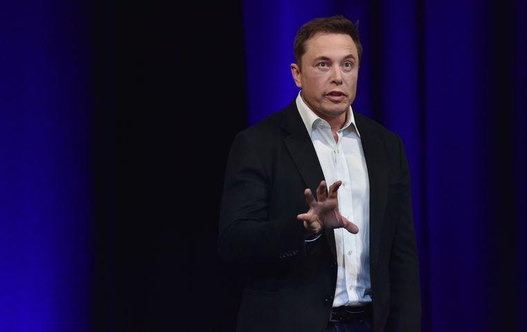 SpaceX-oprichter Elon Musk. Beeld AFP