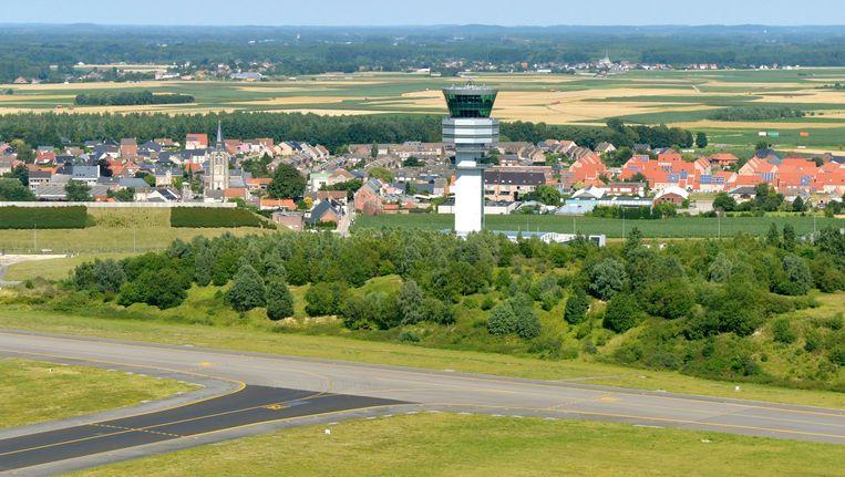 Een controletoren op de luchthaven van Zaventem. Beeld PHOTO_NEWS