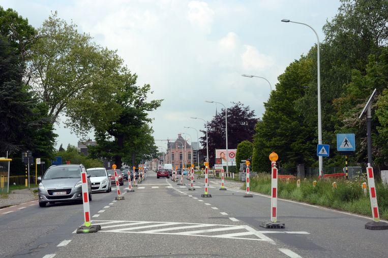 Het éénrichtingsverkeer op de N70 wordt opnieuw van kracht vanaf maandag.