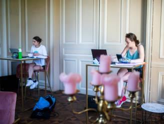Blokken voor examens kan nu ook in kasteel Hof ter Linden