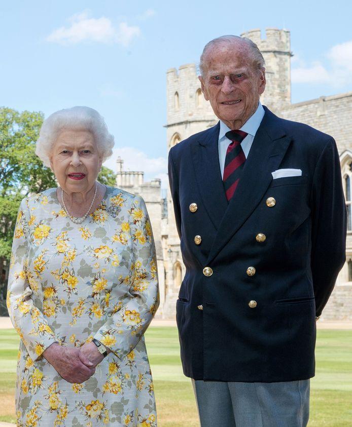 Queen Elizabeth en prins Philip