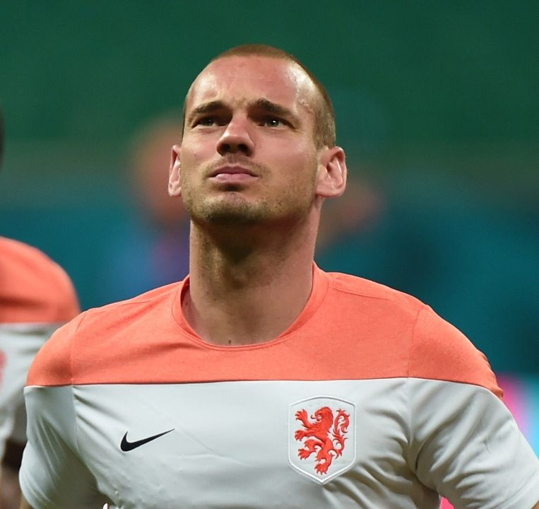 Wesley Sneijder speelt vanavond zijn 100ste interland Beeld null