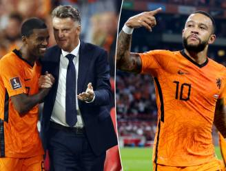 Louis van Gaal en Memphis Depay doen Johan Cruijff ArenA kirren van de pret: fluks Oranje hakt Turkije in de pan (6-1) en zet flinke stap richting WK