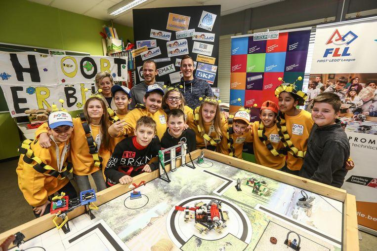 De leerlingen van basisschool Merlijn gaan naar de First Lego League World Final in de Verenigde Staten.