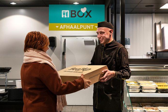 Illustratiebeeld van de maaltijdboxen van Bon'Ap.
