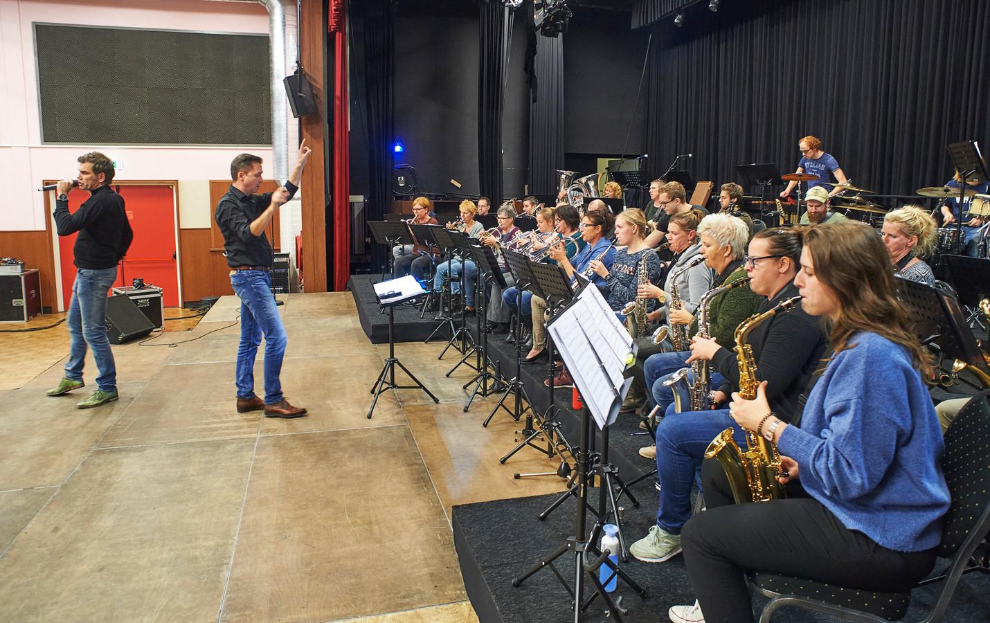 Repetitie Proms van de fanfare in de Horst te Venhorst.  Venhorst Klinkt