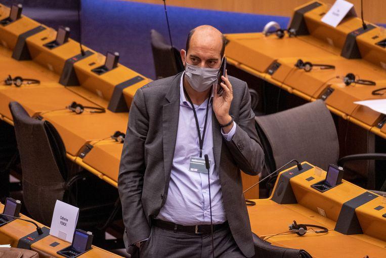 Mathieu Michel kreeg de post van staatssecretaris van Digitalisering van Bouchez. Beeld BELGA