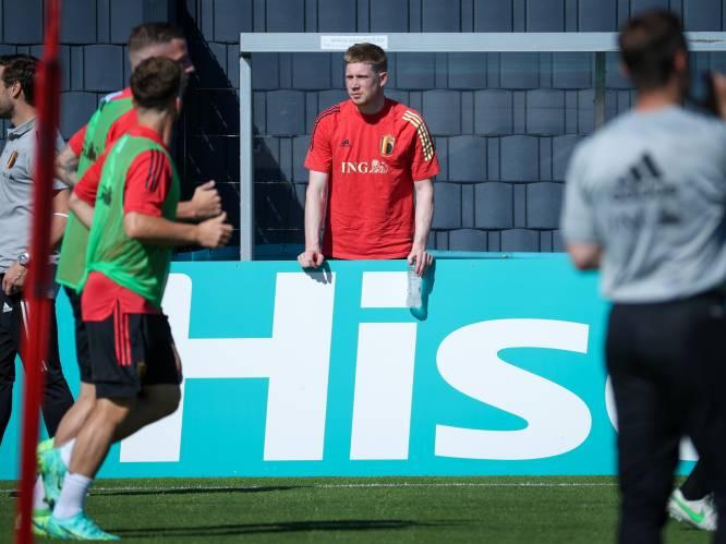 Kevin De Bruyne reist niet mee naar Rusland voor openingsmatch Rode Duivels op EK